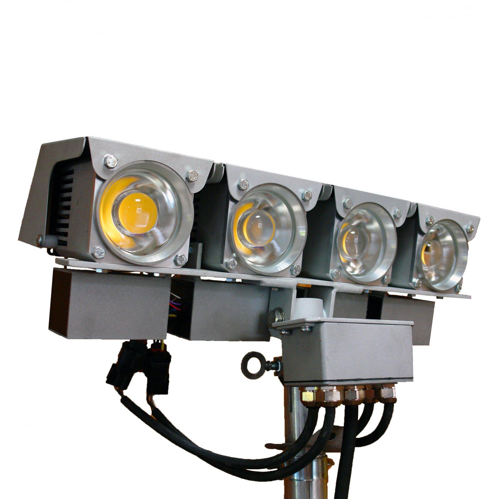 Прожектор ПСДМ-250х4
